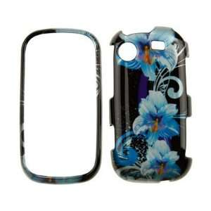 Phone Case Cover Blue Flower For Samsung Messager Touch Cell Phones