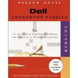 Dell Crossword Puzzles, Vol. 11 (9780812934489) Dell Mag
