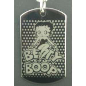 Betty Boop Dog Tag Pendant Necklace Everything Else