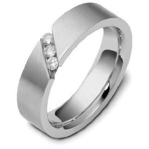 Diamond Comfort Fit Wedding Band Ring   6.25 Dora Rings Jewelry