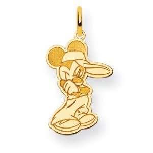 14k Disney Mickey Charm Jewelry