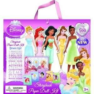 Disney Princess Paper Doll Kit [Paperback] Editors of