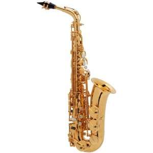 Paris Series Ii Gold plated Eb Alto Saxophone Musical Instruments