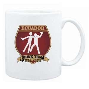 New  Ecuador Drink Team Sign   Drunks Shield  Mug