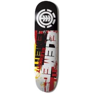 Element Skateboards FURIOUS Skateboard Deck 7.75 Sports