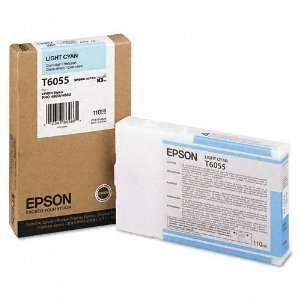 Epson   T605500 (60) Ink, Light Cyan   Sold As 1 Each   Superior color