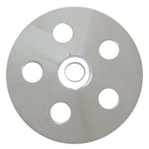 Chevy/ford/gm Aluminum Press Fit Power Steering Pump Pulley   Chrome