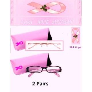1.50 Foster Grant Pink Hope Reading Glasses Including Pink
