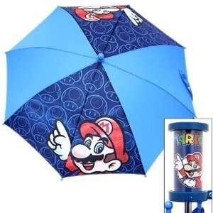 Licensed Super Mario & Mushroom Kids Umbrella 20 Toys & Games
