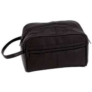 Embassy Solid Genuine Leather Personal Travel Bag