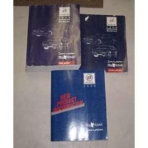1988 Buick Skylark Skyhawk Service Manual Set 3 Vol Oem
