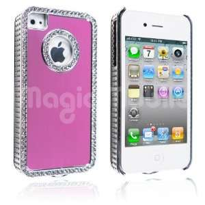 iPhone 4 4S Pink / Silver *Gratis Stylus*: Cell Phones & Accessories