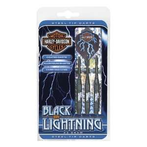 Harley Davidson Black Lightning Steel Tip Sports