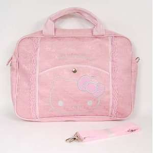 Hello Kitty Huge Knitted Laptop Case Computer Bag