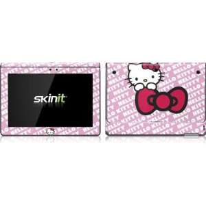 Hello Kitty Pink Bow Peek Vinyl Skin for Sony Tablet S Computers