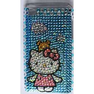 Koolshop Hello Kitty Rhinestone Blue Sky Cover Case for iPod