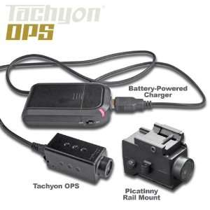 Tachyon OPS Helmet Camera Bundle   OPS Helmet Cam with Picatinny Rail