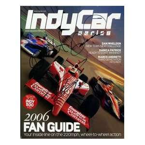 , Patrick & Andretti Autographed Indy Car Magazine