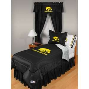 University of Iowa Hawkeyes Bedding Queen Set  Sports