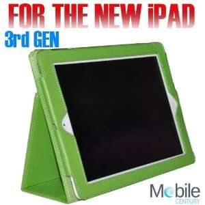 Zoomba iPad 2 Bifold Cover Polyurethane Leather Case Stand
