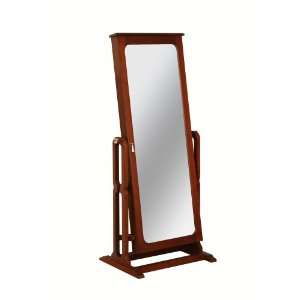 Powell Dakota Cheval Jewelry Wardrobe with Full Length Mirror, Marquis