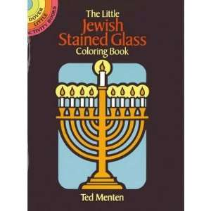 The Little Jewish Stained Glass Coloring Book Toys & Games