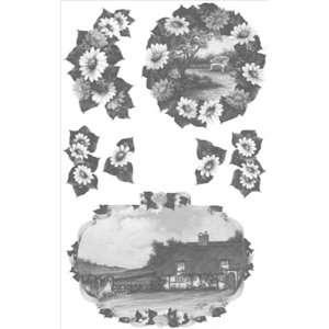 Prints 24X36 Sheet English Landscape Arts, Crafts & Sewing