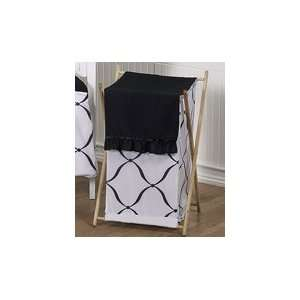 Baby/Kids Clothes Laundry Hamper for Black and White Princess Bedding