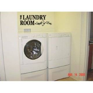 Laundry Room with Bubbles   Vinyl Wall Art Decal Sticker