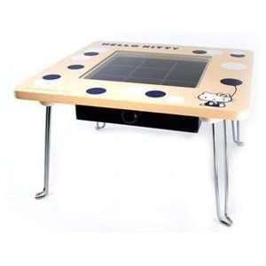 Hello Kitty Yellow Mini Table Stand w Drawer SR 46688  Toys & Games