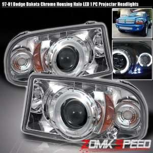 97 04 Dodge Dakota Durango Led Halo Projector Headlight Automotive