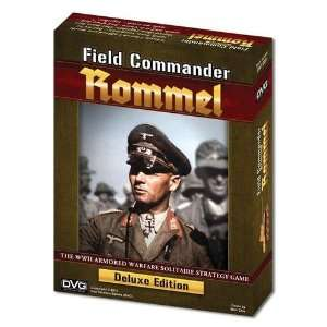 Rommel Deluxe (World War II Solitaire Strategy Game) Toys & Games