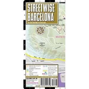 Street Map of Barcelona, Spain (Streetwise (Streetwise Maps)) [Map