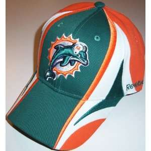 Miami Dolphins NFL Reebok Multi Team Color Hat: Sports