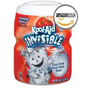 Kool Aid Invisible Cherry Drink Mix, 19 oz  Grocery