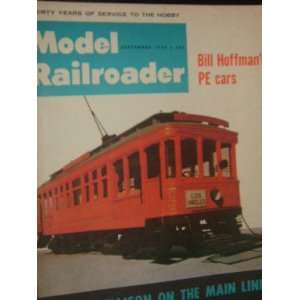 Model Railroader Magazine (September, 1964) staff Books