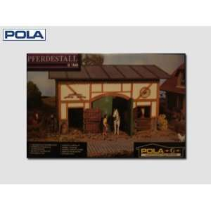 STABLE   POLA G SCALE MODEL TRAIN BUILDINGS 1845: Toys & Games