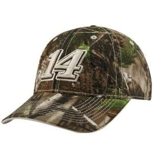 14 Tony Stewart Real Tree Camo Adjustable Hat:  Sports