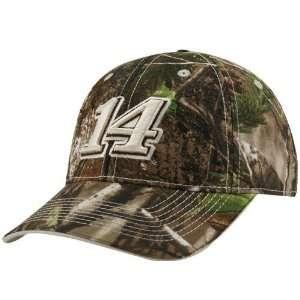 14 Tony Stewart Real Tree Camo Adjustable Hat:  Sports