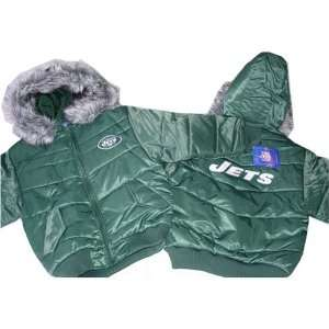 New York Jets NFL Girls Reebok Heavyweight Jacket Small 7