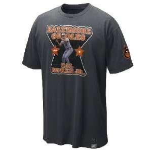 Ripken Jr Orioles Nike Cooperstown Jersey Tee Shirt