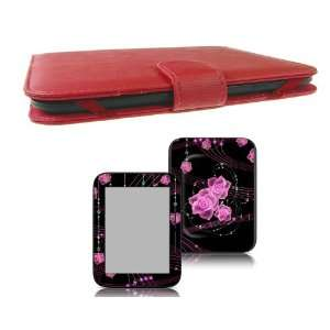 Bundle Monster  Nook Touch Synthetic Leather Case Cover