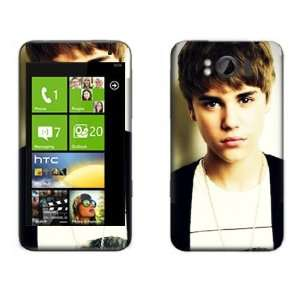 Meestick Justin Beiber Vinyl Adhesive Decal Skin for HTC
