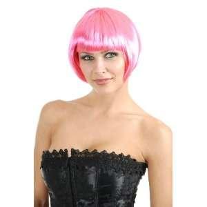 Short Bob Light Pink Wig Toys & Games
