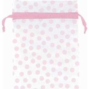 Pink Dot Organza Bags 12ct Toys & Games