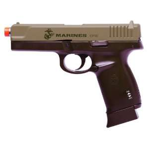 U.S. Marine Corps Airsoft CO2 Blowback Pistol: Sports