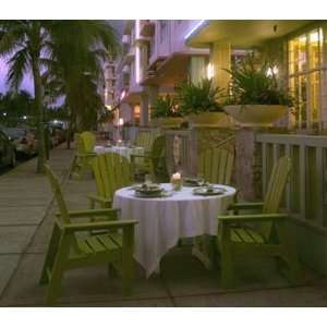 Beach Casual Recycled Plastic Patio Dining Set Patio, Lawn & Garden