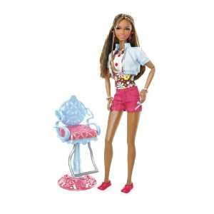 Barbie So In Style Stylin Hair Kara Doll  Toys & Games