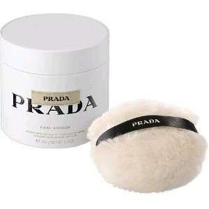 EAU AMBREE by Prada BODY POWDER WITH PUFF 3.5 OZ for WOMEN: Beauty