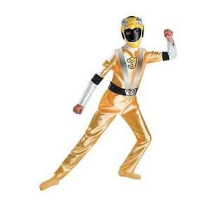 Deluxe Muscle RPM Yellow Kids Power Rangers Costume: Toys & Games